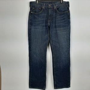 Levi's 559 Men's Jeans Size 33/34 Blue Denim SM9